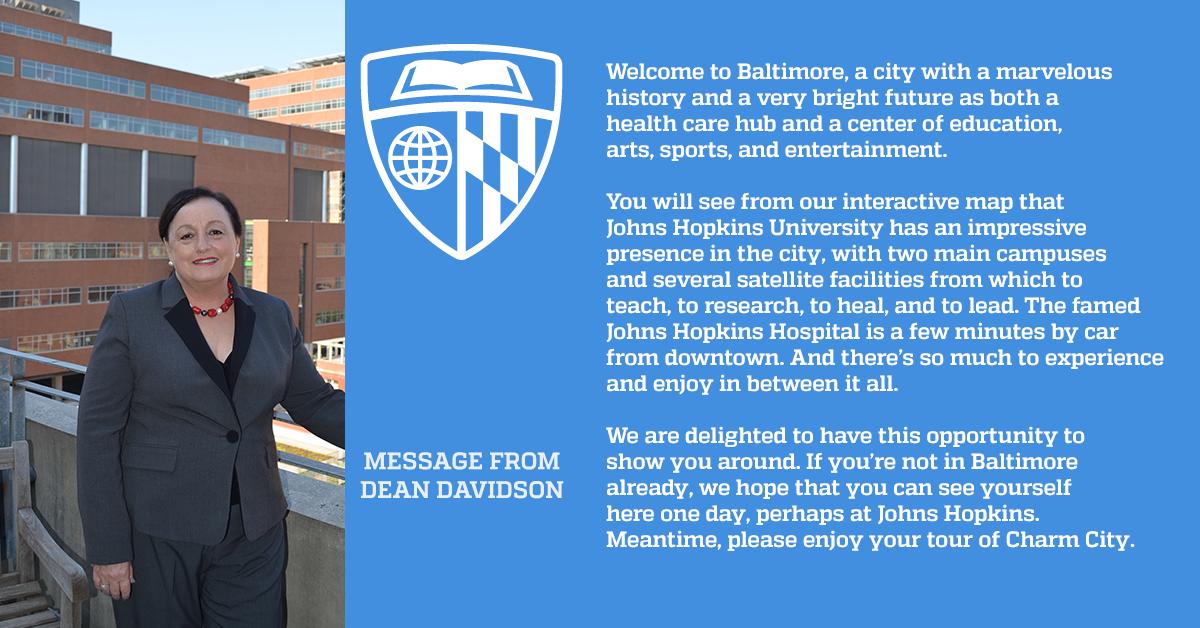 Johns Hopkins University Virtual Tour